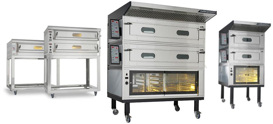 Fornitura attrezzature per Pizzerie